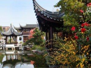 Lan Su Gardens in Portland, Oregon