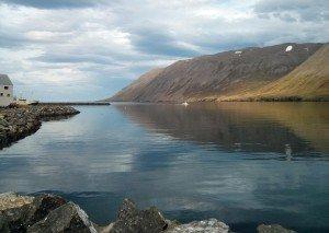 Iceland Siglufjordur fjord