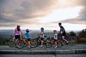 Biking the Blue Ridge Parkway