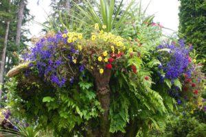 Glacier Gardens Flower Tower