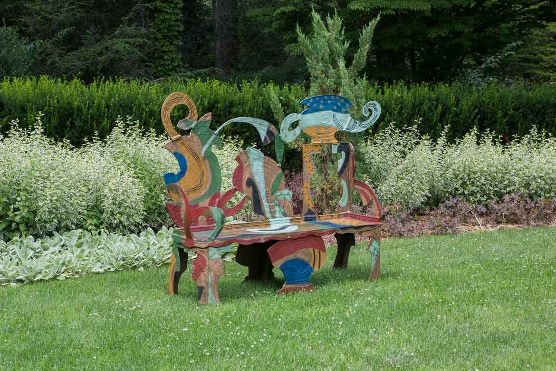 Greenwood Gardens sculpture