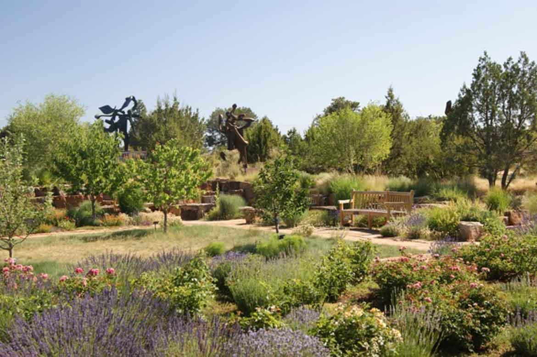 A Visit To The Santa Fe Botanical Garden Garden