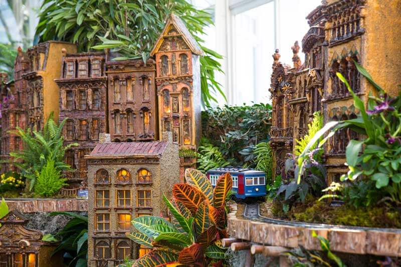 The New York Botanical Garden Train Show