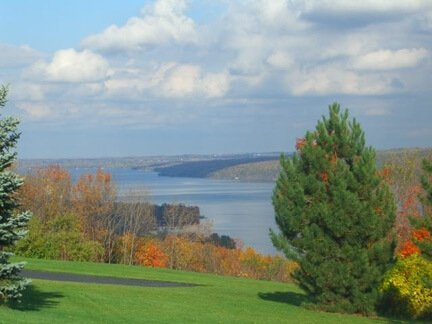 The Finger Lakes area in New York