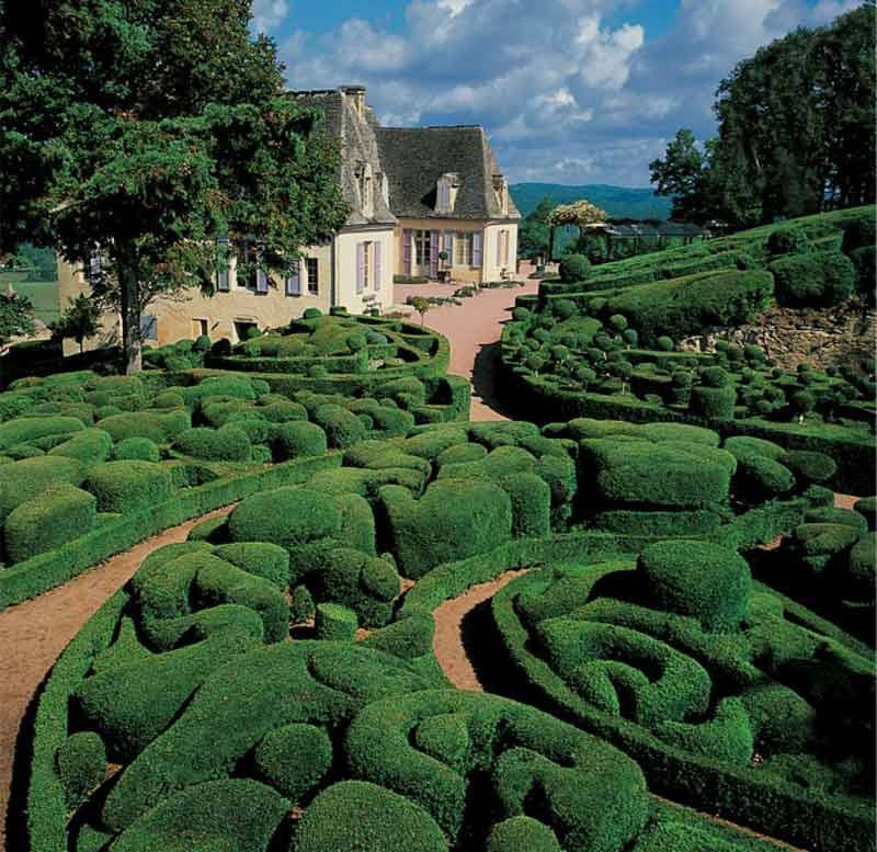 The Marqueyssac Topiary Garden France