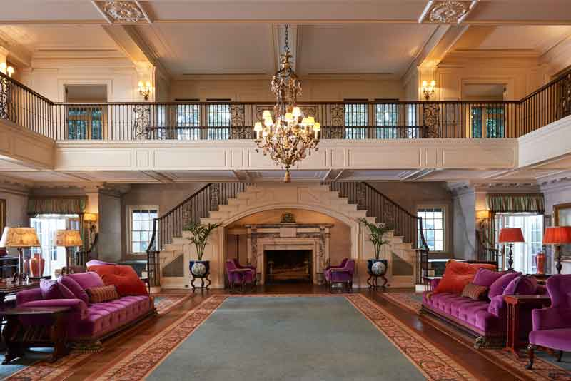 Reception Hall at Reynolda House