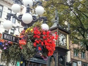Vancouver's Gastown steam clock