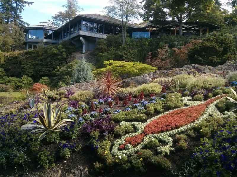 Queen Elizabeth Park North Quarry Garden