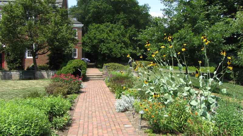 Mt. Cuba Center formal garden