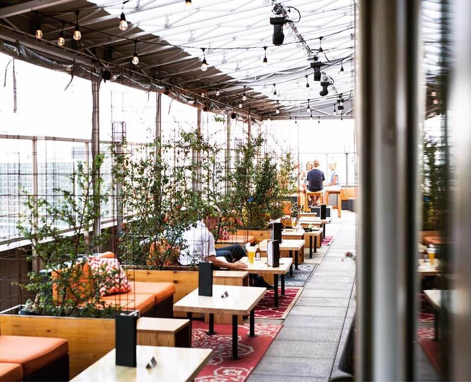 Kimoto Rooftop Restaurant and Garden Lounge