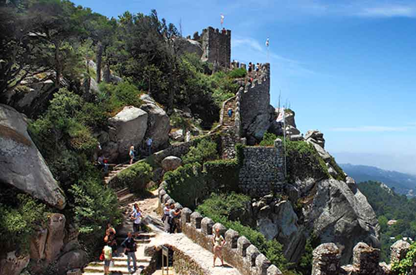 Moorish castel in Pena