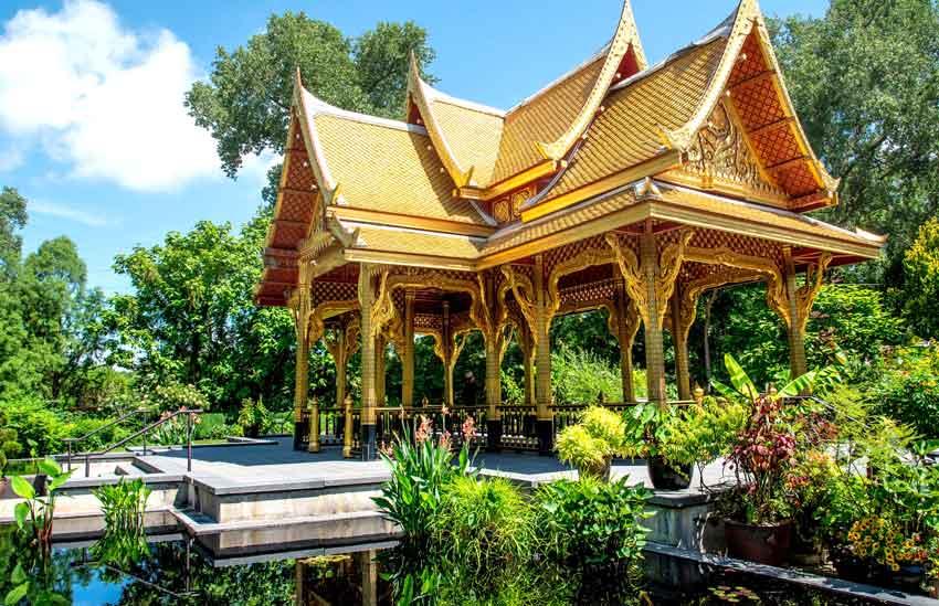 Olbrich Botanical Garden Thai Pavilion