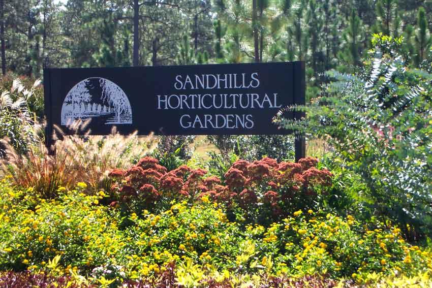 Sandhills Community College Garden in Pinehurst