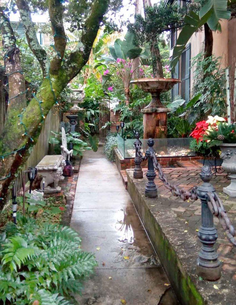Private garden St. Augustine