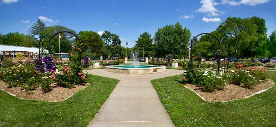 Davenport Rose Garden