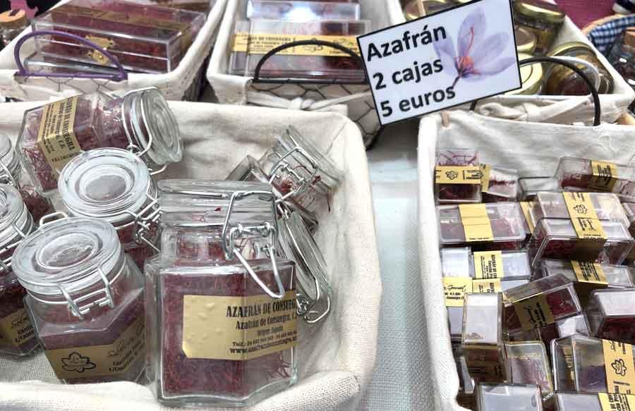 Saffron products